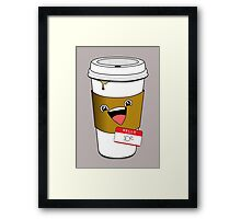 Hello my name is Joe Framed Print