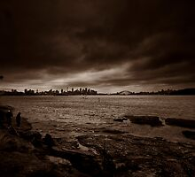 Storm In Sepia by MiImages
