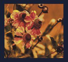 Осенние Цветы  (Autumn Flowers) One Piece - Long Sleeve