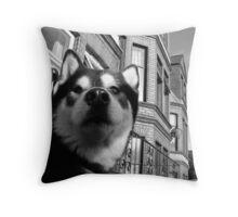 Back street Bruiser Throw Pillow