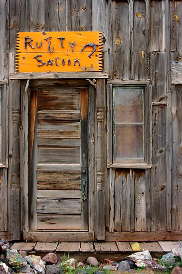 Rusty Saloon by Vicki Pelham