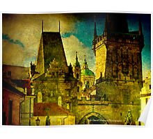 St. Nicholas Church - Looking from Mala Strana, Prague Poster