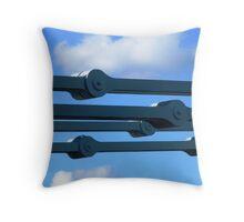Sky Chain Throw Pillow