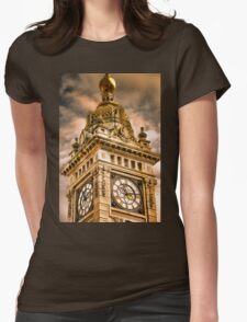 Brighton Clock Tower Womens Fitted T-Shirt