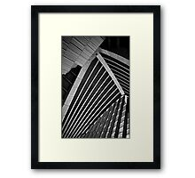 Inside the Sydney Opera House Framed Print