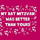 My Bat Mitzvah Was better than yours by nicwise