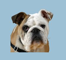 American Bulldog Background Removed Unisex T-Shirt