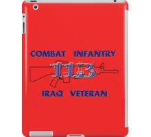 11Bravo - Combat Infantry - Iraq Veteran iPad Case/Skin
