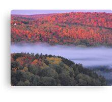 Fall Over Bancroft Ontario Canvas Print