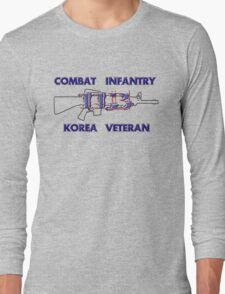 11Bravo - Combat Infantry - Korea Veteran Long Sleeve T-Shirt
