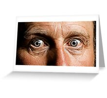 My Eyes are Seeing You (turn off the lights). Greeting Card