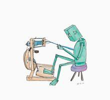 Spinning Robot Unisex T-Shirt