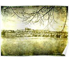 Prague Castle & Charles Bridge, Prague Poster