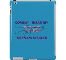 11Bravo - Combat Infantry - Vietnam Veteran iPad Case/Skin