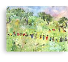 Field Workers Canvas Print