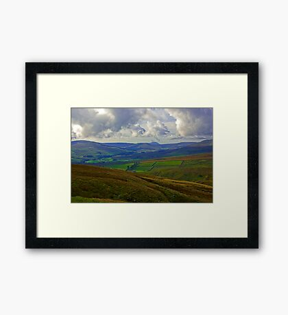 In The Dales Framed Print