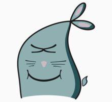 Happy bunny by Airon Roosalu