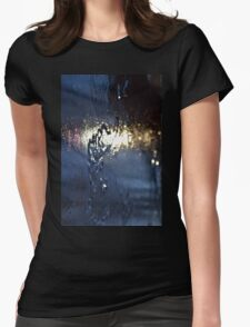 Mysterious glow Womens Fitted T-Shirt