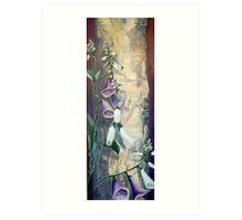 Foxglove by Birch at Yaddo Art Print