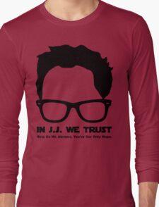 In J.J. We Trust - Stencil Long Sleeve T-Shirt