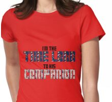 Time Lord to His Companion Womens Fitted T-Shirt