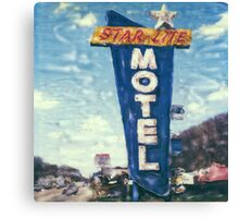 Star-Lite Motel Canvas Print