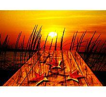 Autumn Sunset Photographic Print