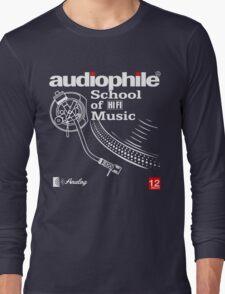 audiophile shirt Long Sleeve T-Shirt