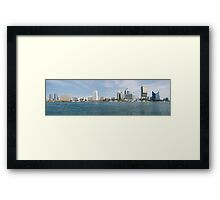 dubai creek Framed Print