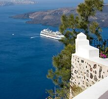 Santorini View - Breathtaking. by imagic