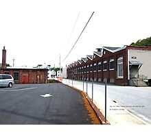 The Old Guild Guitar Factory Westerly, Rhode Island 2 Photographic Print