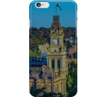 The Old Bendigo Town Hall at Sunset iPhone Case/Skin