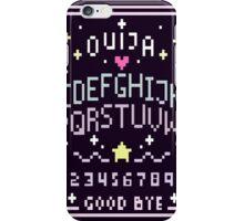 Pixel Ouija Board iPhone Case/Skin
