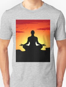 Male Yoga Meditating iPhone 5  Case /  iPad  Case / Samsung / Pillow / Tote Bag Galaxy Cases  / Duvet T-Shirt