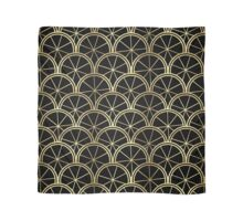 Golden Art Deco Scarf