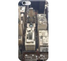 Aerial view of Downtown Chicago iPhone Case/Skin