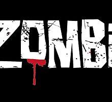 iZombie logo white by ervinderclan