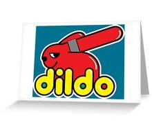 Duplo Dildo Greeting Card