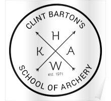 school of archery Poster