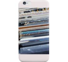 Record Collection iPhone Case/Skin