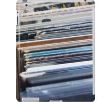 Record Collection iPad Case/Skin