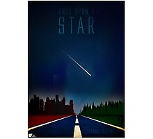 Once upon a star Photographic Print