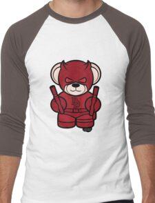Beardevil Men's Baseball ¾ T-Shirt