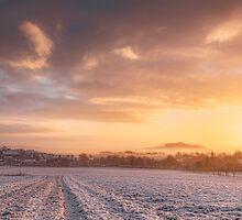 last snow fall by Jonas Huehn