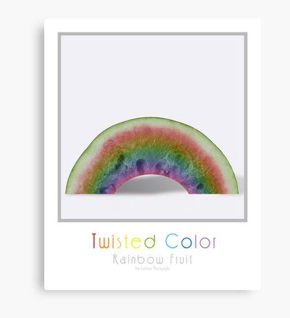 Rainbow Fruit Canvas Print