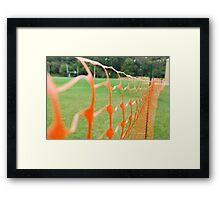 keep out!  Framed Print