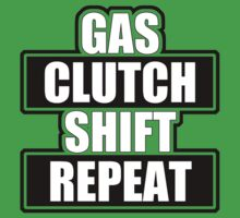 Gas clutch shift repeat by TswizzleEG