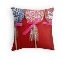 Lolly Pop Lolly Pop Throw Pillow