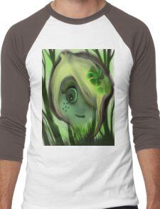 tree ghost Men's Baseball ¾ T-Shirt
