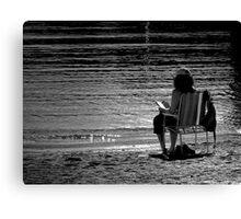 Beach Thriller Canvas Print